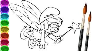 smurfs the lost village coloring page drawing smurfs coloring