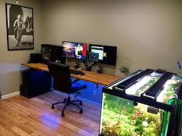 Desk For Gaming Setup by 102 Best Gaming Set Ups Images On Pinterest Pc Setup Gaming