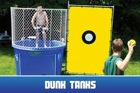 dunk tank rental nj home extravaganza entertainment