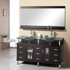 bathroom attractive modern black bathroom vanity with white sink
