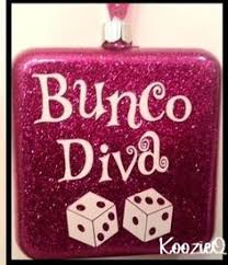 just made 12 dice ornaments for the in my bunco