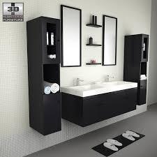 Bathroom Furniture Sets Bathroom Furniture 08 Set 3d Model Hum3d