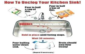 kitchen sink clogged both sides how to unclog a kitchen sink with a garbage disposal isidor me