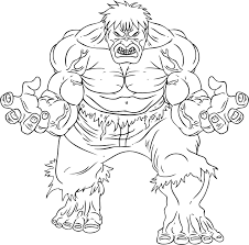 hulk 5 hulk coloring pages coloring for kids
