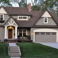 exterior paint colors for house with brown roof home painting