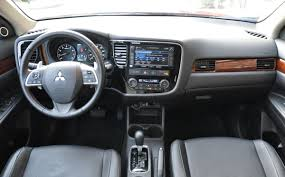 mitsubishi outlander sport 2015 interior capsule review 2015 mitsubishi outlander 3 0 gt s awc the truth