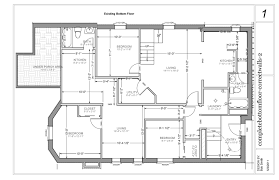 Walkout Basement Plans by Luxury Modern House Floor Plans On Perfect Good Modern Home Design