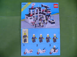 lego police jeep instructions 6386 1 police command base sets clabrisic