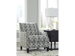 Geometric Accent Chair Signature Design By Ashley Gilmer Accent Chair In Geometric Gray