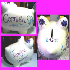 monogram piggy bank 101 best chanchitos images on piggy banks pigs