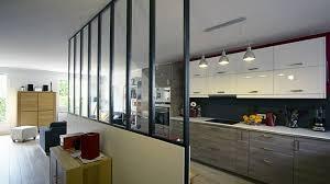 ouverture salon cuisine best decoration cuisine avec ouverture sur le salon images with