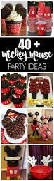 Mickey Mouse Topiary 40 Mickey Mouse Party Ideas Pretty My Party