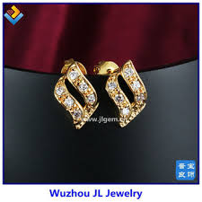 gold ear studs fashion design diamond stud gold earrings ear studs buy diamond