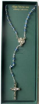 vatican jewelry vatican jewelry silver and sapphire rosary