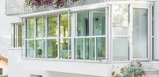 verande balconi balconi con verande in vetro liamento spazi abitativi da finstral