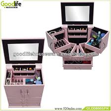 rolling makeup case with lighted mirror amazing professional portable rolling studio cosmetic makeup case