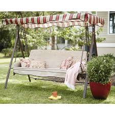 Porch Swings For Sale Lowes by 198 Shop Garden Treasures Porch Swing At Lowes Com Garden Patio