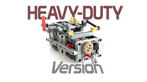 lego technic 8 speed sequential gearbox v3 with instructions youtube