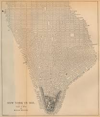 Old Map New York City by Documents For The Study Of American History Us History Amdocs