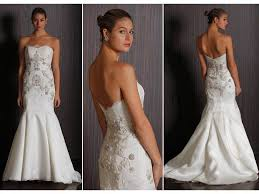 mermaid wedding dresses 2011 2011 badgley mischka strapless mermaid wedding dress