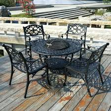 Bistro Patio Table And Chairs Set Outdoor Aluminum Bistro Table And Chairs Cast Aluminum Outdoor