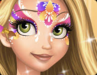 cute face painting games