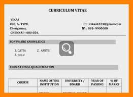 format for account assistant in india