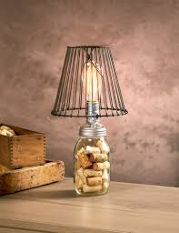 Bulb Lamp Love This Edison Bulb And Wire Lamp Shade Look Cleveland