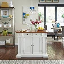 kitchen island white amazon com home styles 5002 94 kitchen island white and