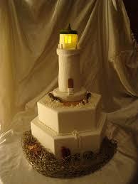 lighthouse cake topper lighthouse wedding cakes the wedding specialiststhe wedding