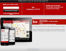 the menear realty group keller williams mobile search app
