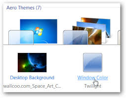 how to change the windows 7 taskbar color with no extra software