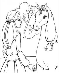 horse head coloring funycoloring