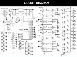 Solar Street Light Circuit Diagram by Street Light Project Circuit Diagram Sesapro Com