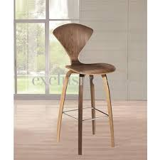 Modern Wood Bar Stool Modern Wood Bar Stools Normen Modern Wooden Bar Chair Crimson