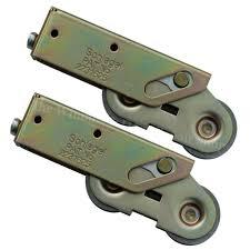 Aluminium Patio Doors Prices by Pair Of Tandem Sliding Patio Door Roller Wheels For Aluminium