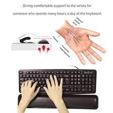 Comfortably Numb Keyboard Keyboard Wrist Rest Keyboard Wrist Support Comfortable Amazon Co