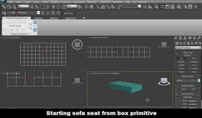 3d Sofa Creating 3d Sofa For Interior Design In 3ds Max Video Tutorial