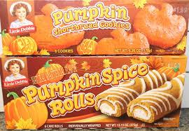 little debbie pumpkin shortbread cookies u0026 pumpkin spice rolls