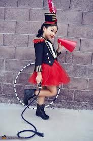 Halloween Costumes Circus Theme Circus Ringmaster Lion Tamer Costume Lion Tamer Lions Daughters
