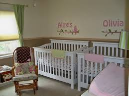 White Wooden Rocking Chair For Nursery Baby Nursery Simple Baby Bedroom Ideas With White