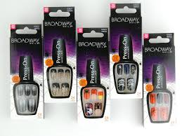 broadway nails impress press on manicure halloween 2015 nails