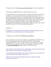 The Christmas Tree In The Bible - kirk cameron saving christmas movie review and warning
