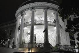 donald trump white house decor white house gets creepy for halloween nbc news