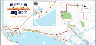 Boston Marathon Course Map by Distances Jetblue Long Beach Marathon And Half Marathon Motiv