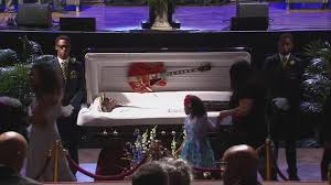 funeral fans fans mourn chuck berry at funeral cbs news