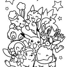 pokemon coloring free download