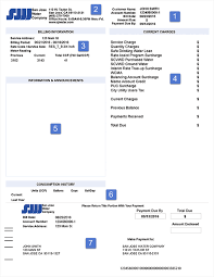 how to read your bill san jose water company