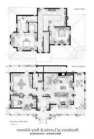 Cabin Blueprint by Large Home Designs Latest Gallery Photo