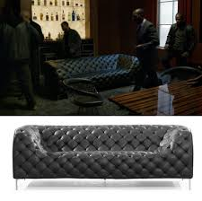 zuo modern providence sofa providence neo chesterfield sofa in luke cage film and furniture
